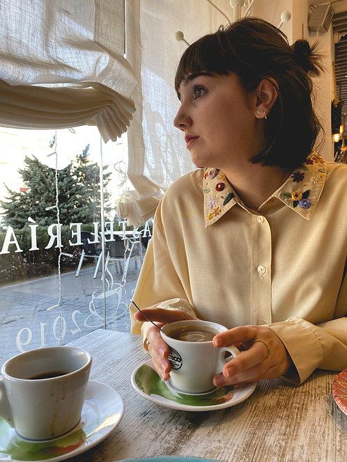 Camisa Juliette beige