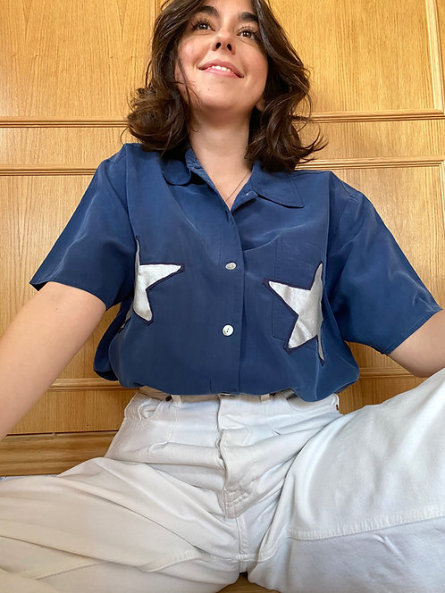 Camisa Two silver stars