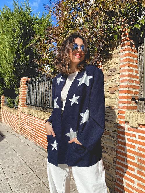 Kimono silver stars