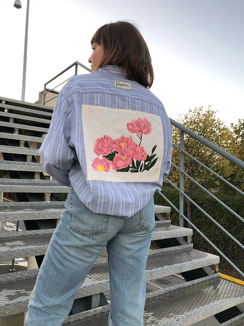 Camisa Flowers need time to bloom