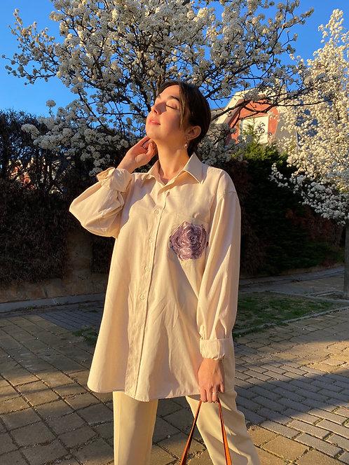 Camisa Le printemps rose
