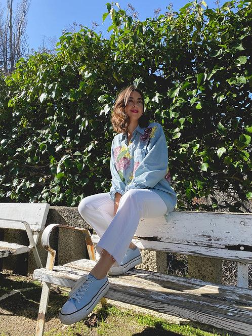 Camisa Brigitte azul