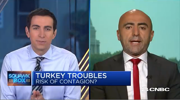 Turkey's economy was showing signs of slowdown before crisis...