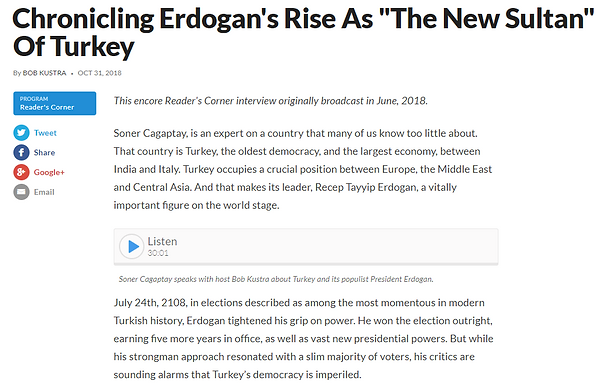 """Chronicling Erdogan's Rise As """"The New Sultan"""" Of Turkey"""