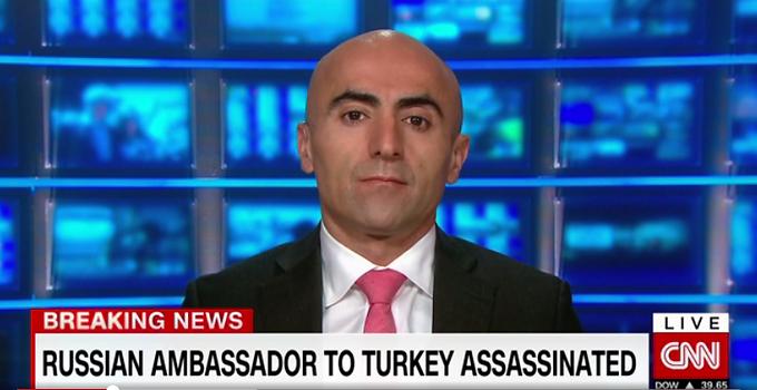 CNN Appearance: Russian Ambassador to Turkey shot dead