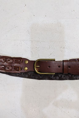 Gap 00s brown leather belt