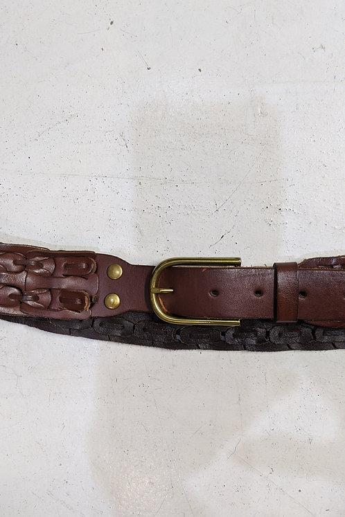 Gap 00s brown leather belt
