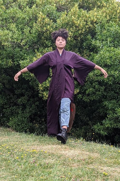 beautiful vintage silk kimomo