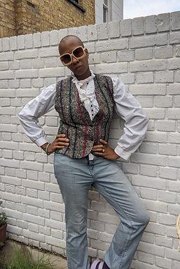 Chic 70s French Tweed Vest Waistcoat