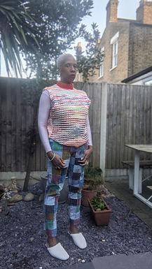 """Stunning vintage patchwork jeans 28"""""""