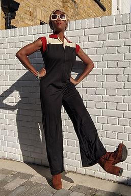 Stunning vintage 70s jumpsuit