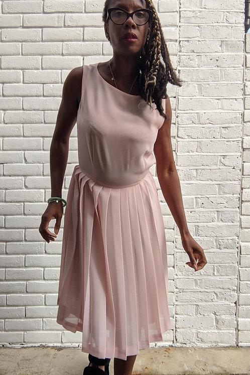 Sweet 00s Pastel pink dress