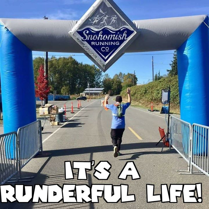 I placed Dead Last at the Snohomish River Run Marathon on 10/15/17.  I may have finished last, but I FINISHED!