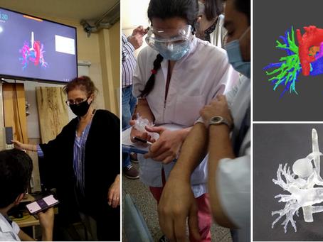 Tecnología 3D para tomar decisiones en cardiopatías congénitas complejas