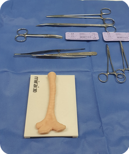 Modelo operable en quirófano