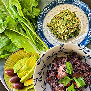 Black rice risotto & walnut dip.jpg