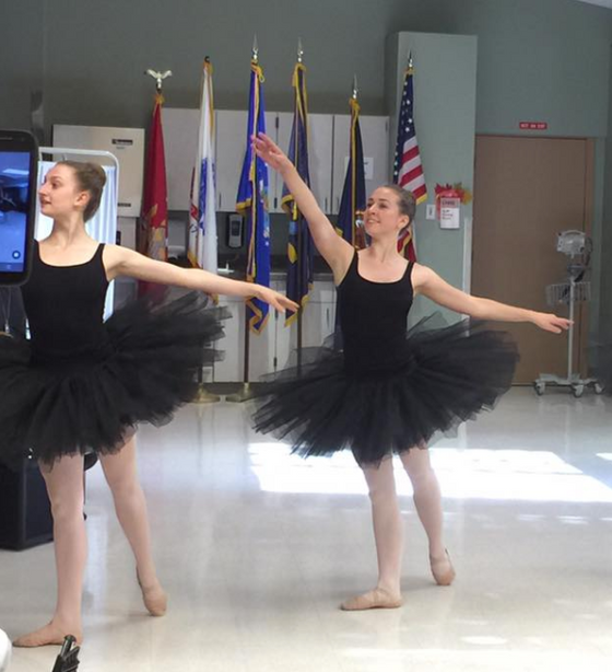 Conservatory Dance Theater performing for our disabled Vet's...