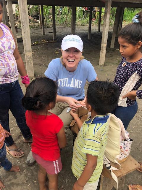 Dr. Katherine Raymond, Tulane Unversity in Ayacucho Village