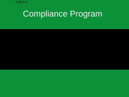 Compliance and Ethics Program... an idea