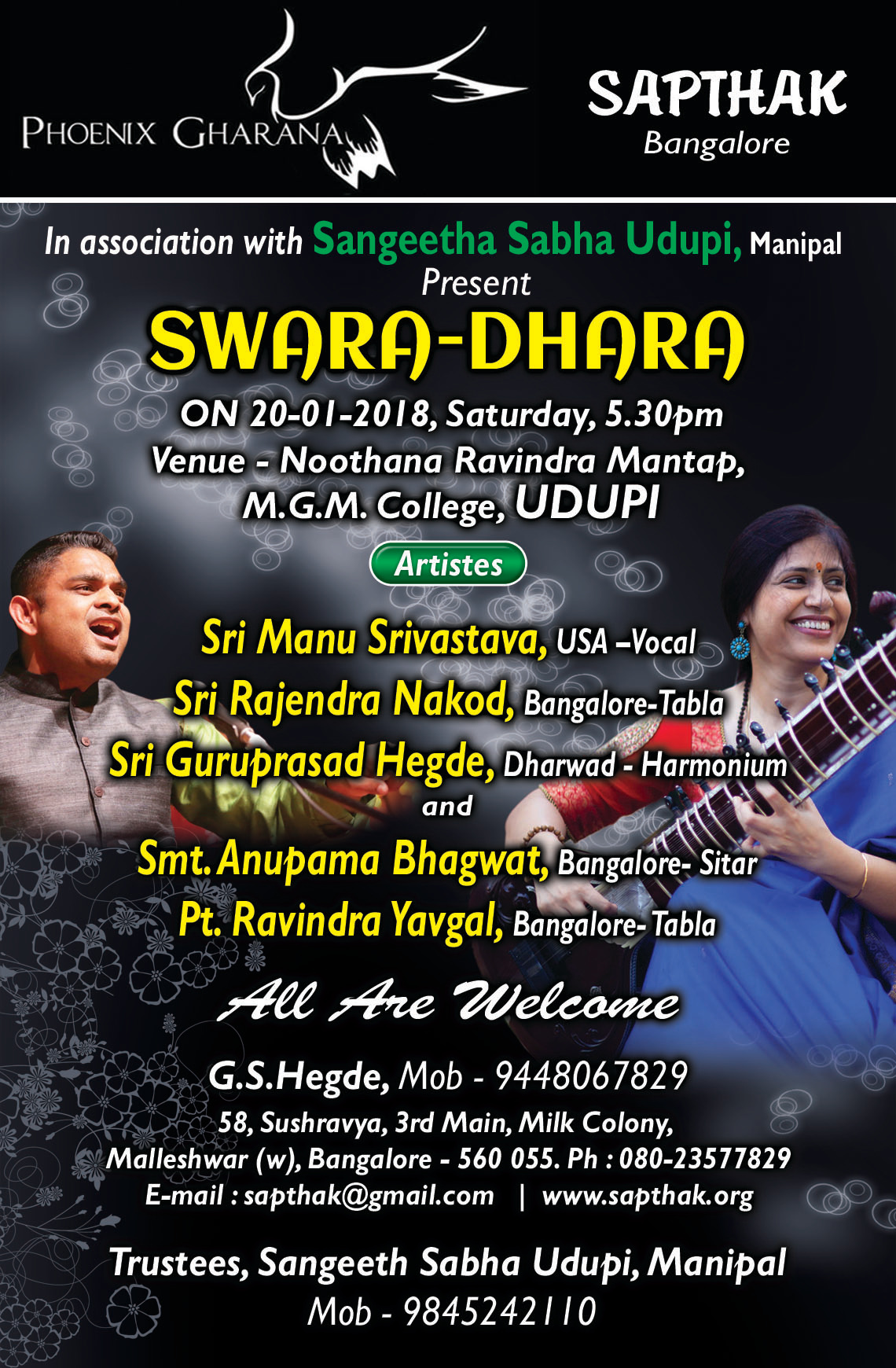 SWARA DHARA-1-English Invitation