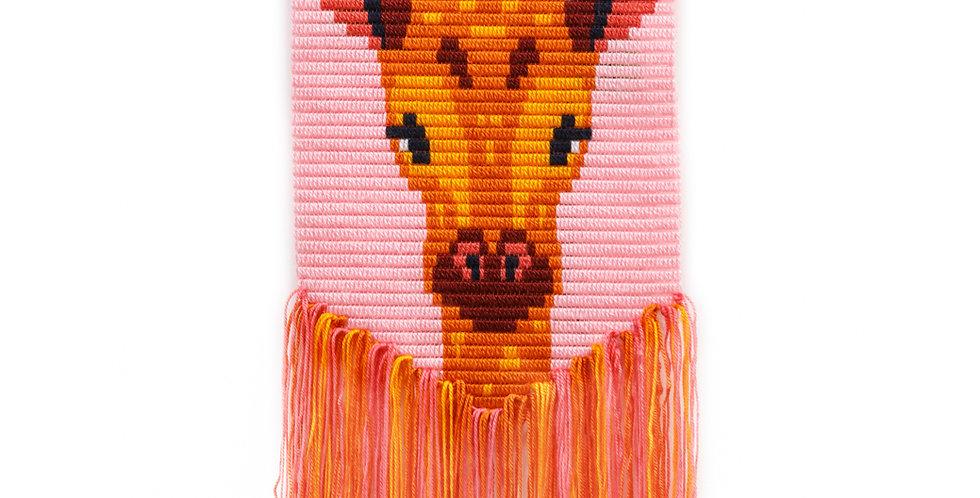 GIRAFFE | 3D wall art needlepoint kit