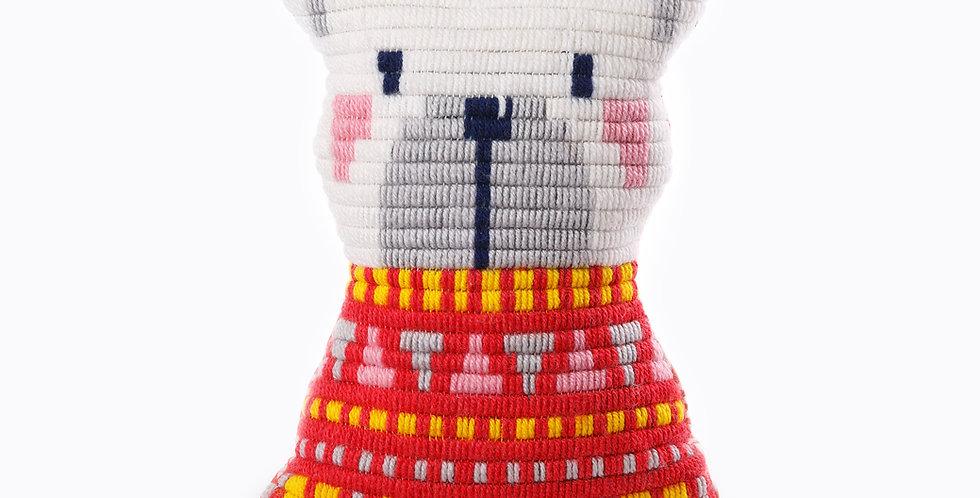POLAR BEAR | pillow needlepoint kit
