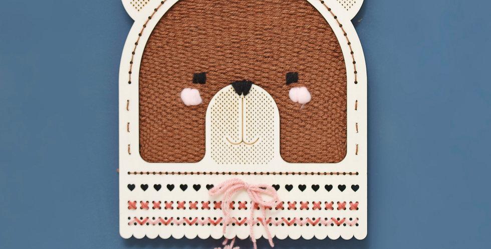 BEAR | weaving kit