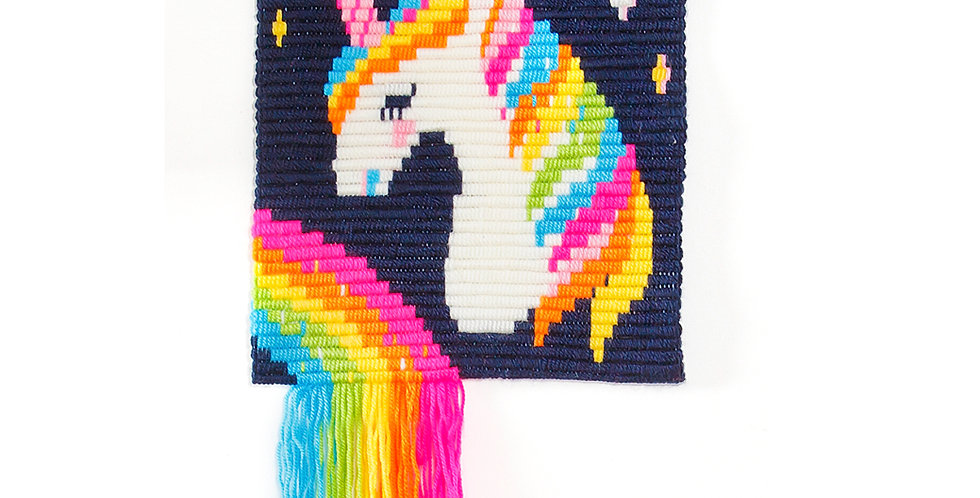 UNICORN | 3D wall art needlepoint kit