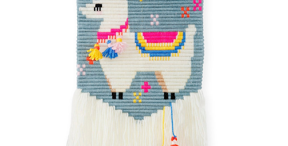 LLAMA | 3D wall art needlepoint kit