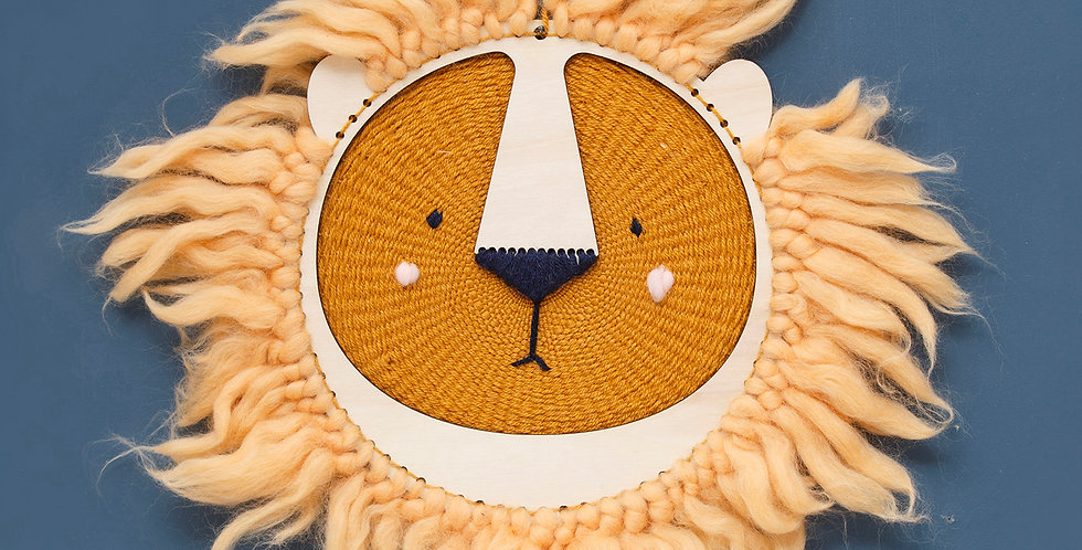 LION | weaving kit