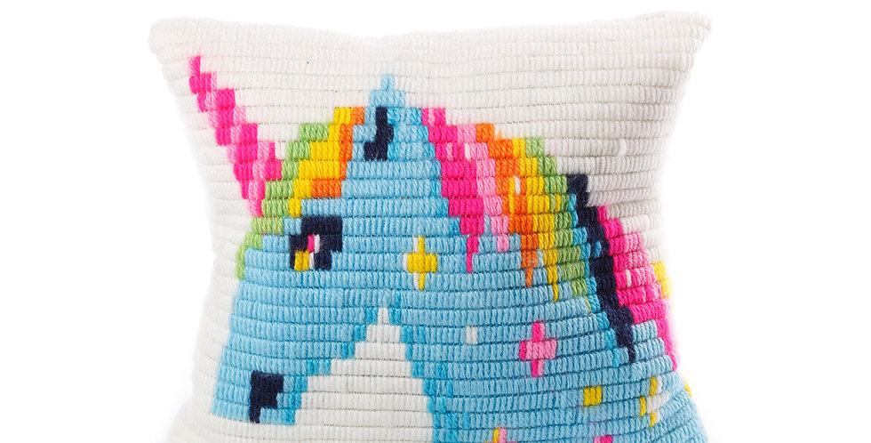 UNICORN | pillow needlepoint kit