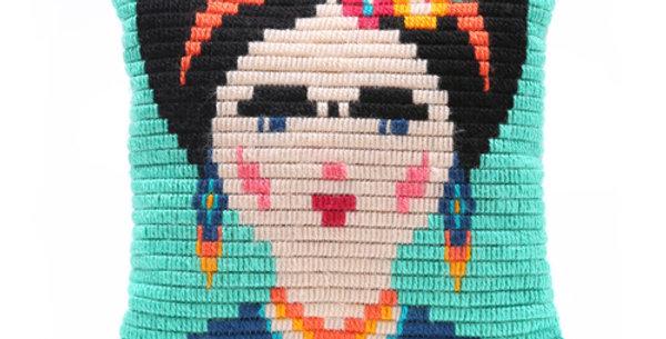 FRIDA KAHLO | pillow needlepoint kit