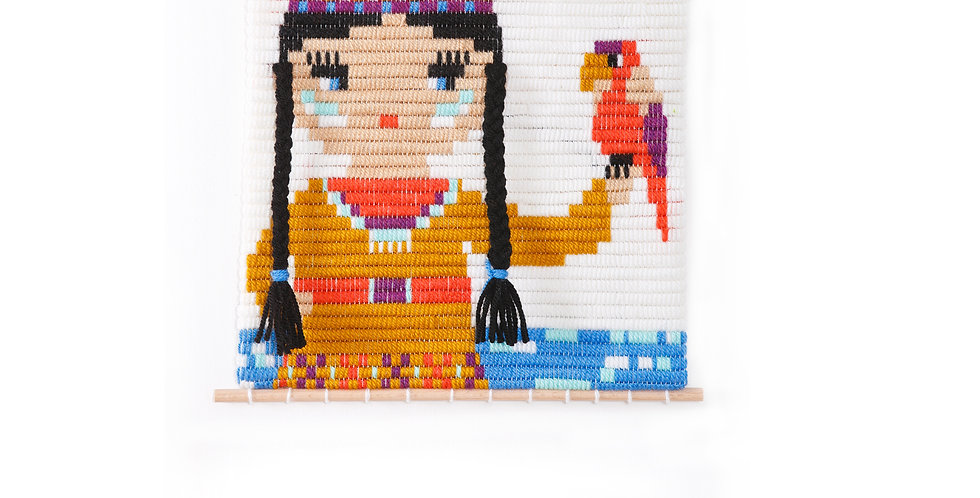 ENESTA | 3D wall art needlepoint kit
