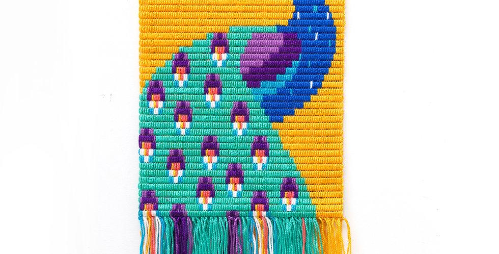 PEACOCK | 3D wall art needlepoint kit