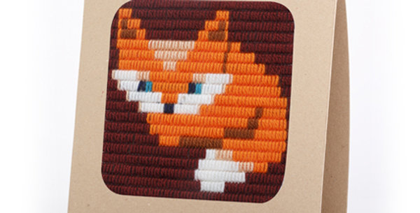 BABY FOX | needlepoint kit