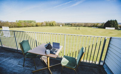 Town Square Spaces - Corntown Cricket Club Balcony