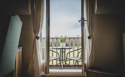 Gilwern Farm Balcony