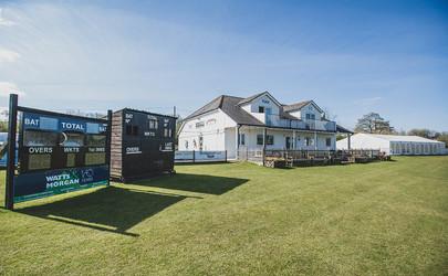 Town Square Spaces - Corntown Cricket Club Exterior