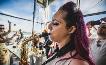 Bayside Brunch Saxophonist