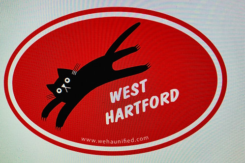 West Hartford CLAWS OUT magnet