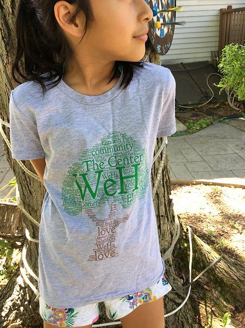 WeHa Peaceful Tree t-shirt