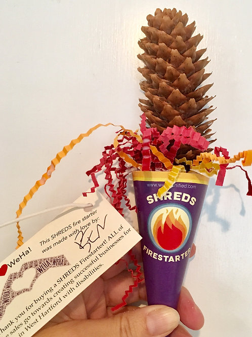 SHREDS Pinecone Firestarter/10 pack