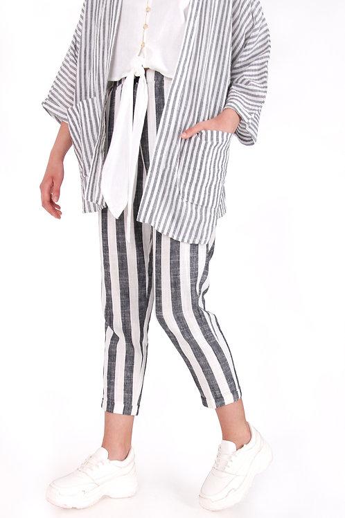 Linen Stripe Pant