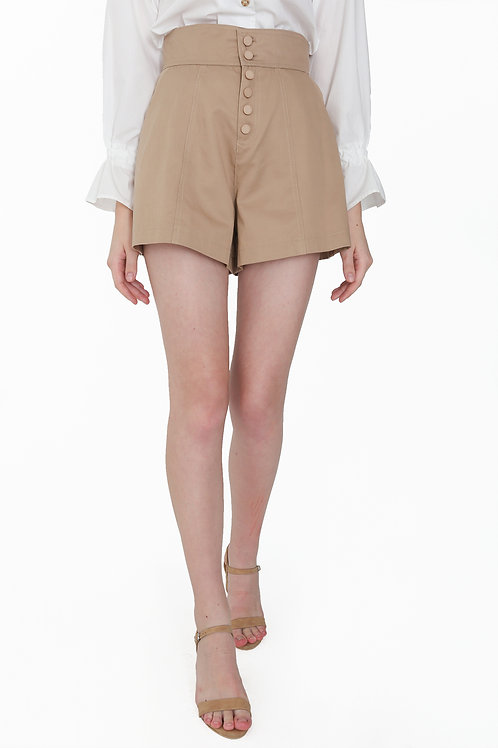 Bermuda Pant with Buttons