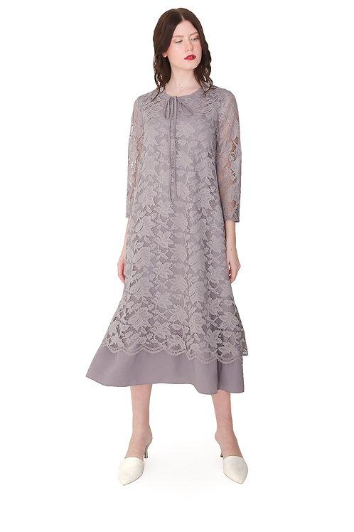 Brocade Long Dress