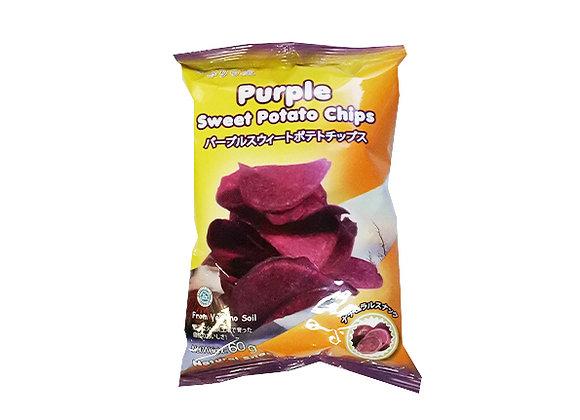 サリラヤ 紫芋チップス 60g×1袋
