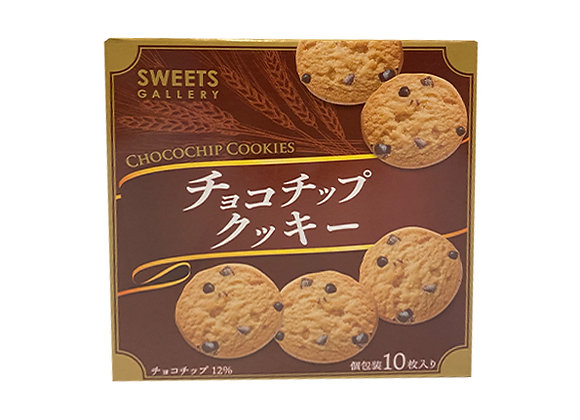SWEETS GALLERY チョコチップクッキー 10枚入りx1箱