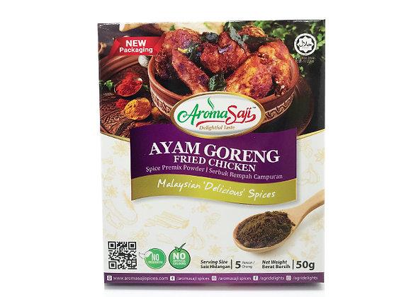 Ayam Goreng Fried Chicken Spice Premix Powder 50g