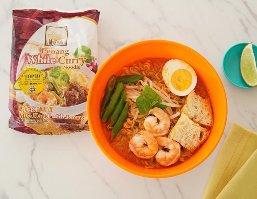 My Kuali ペナン・ホワイトカレー麺