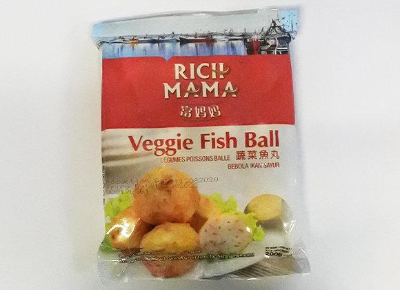 RICH MAMA 野菜フィッシュボール×1袋